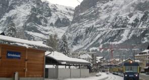 Un hôtel dans les montagnes à Grindelwald