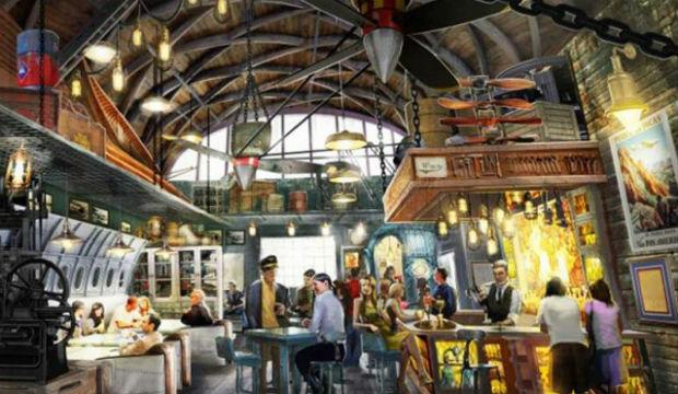 Nouveauté Disney: un bar dans l'esprit « Indiana Jones »