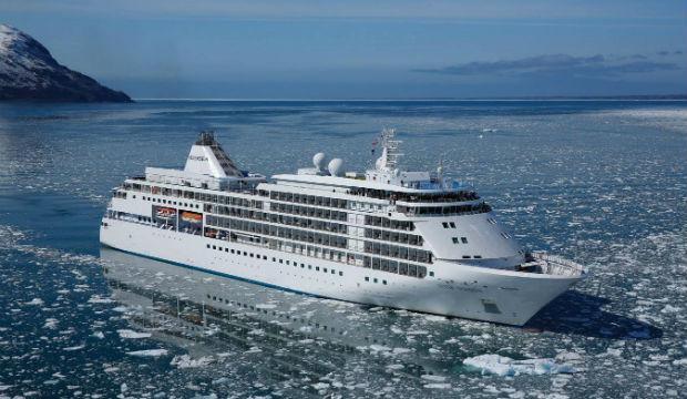 Le Silver Cloud transformé pour des expéditions dans les eaux polaires