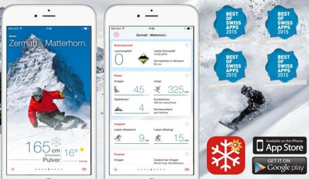 Suisse Tourisme revampe son application « Snow Report »