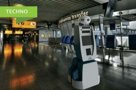 Un robot aide les passagers à trouver leur chemin!