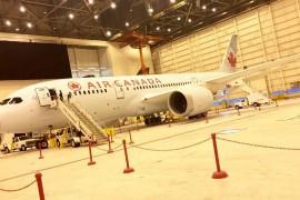 Air Canada célèbre le 787-9 Dreamliner de Boeing en grande pompe
