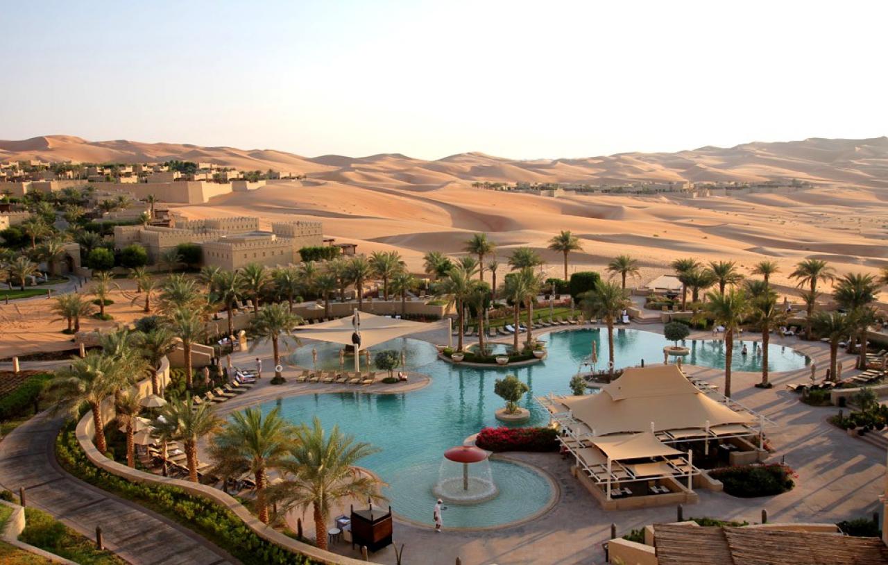hotel dans le desert