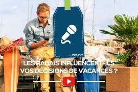 [VOX POP] Les rabais influencent-ils les décisions de vacances des voyageurs?