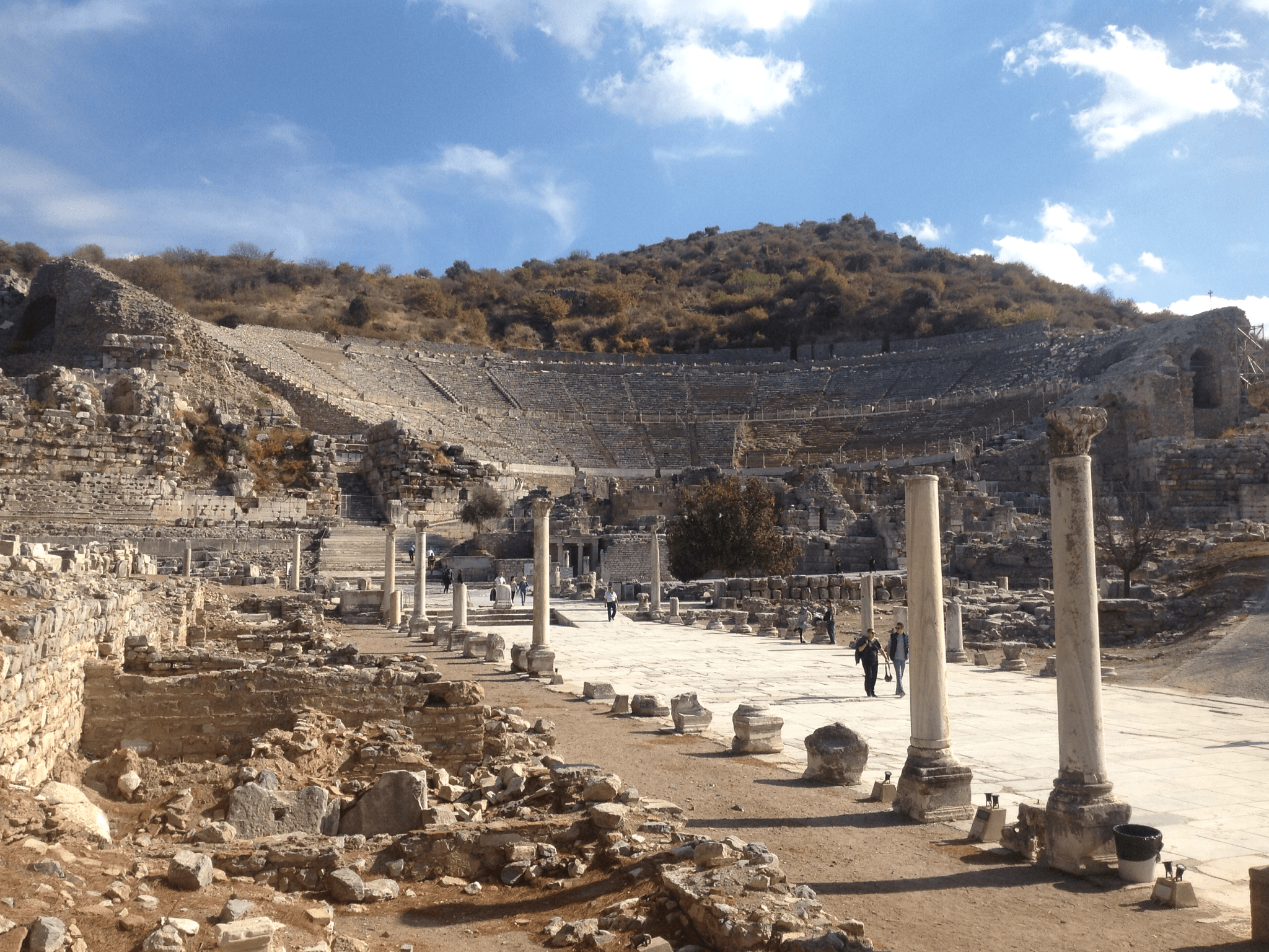 ruine d'ephese en turquie