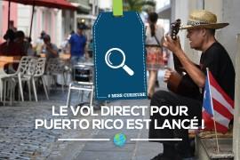 [Air Canada] vol direct pour Puerto Rico lancé!