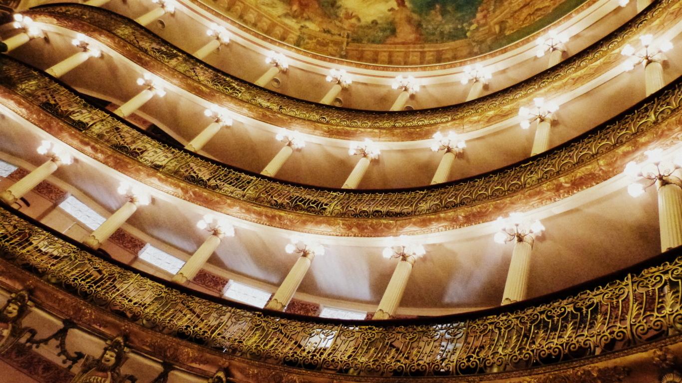 balcons opéra Manaus