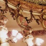Intérieur opéra Manaus Brésil