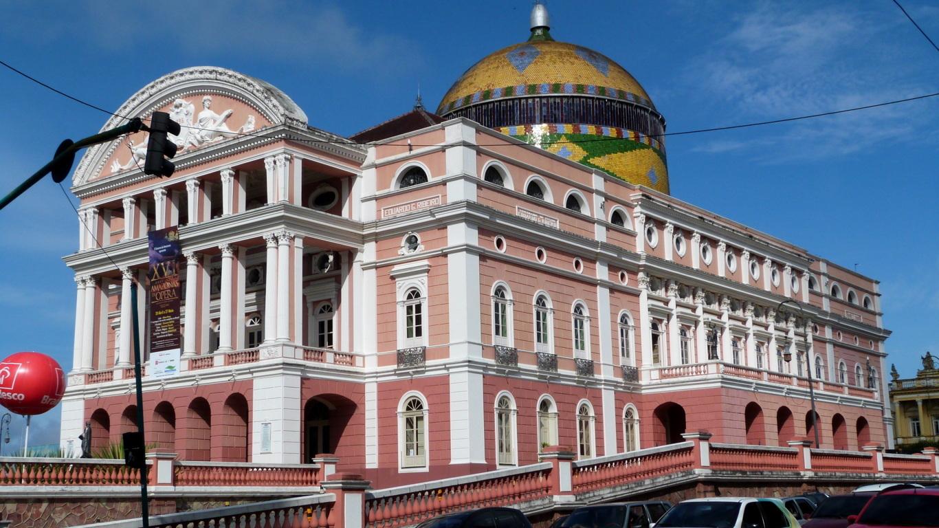 toit opéra de Manaus