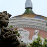 Statue et dôme de l'Opéra Manaus