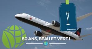 Air Canada: Beau, élégant et durable à 80 ans!