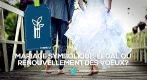 [Mariage] Que choisir ? Symbolique, légal ou renouvellement des vœux ?