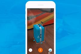 KLM: Mesurez vos bagages avec la réalité augmentée