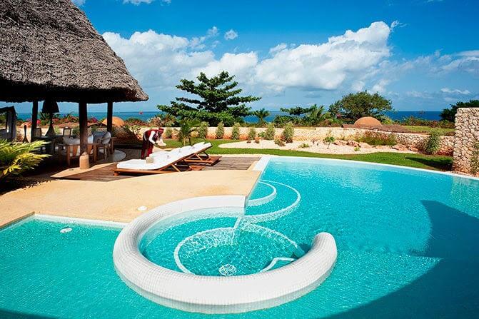 piscine riu zanzibar