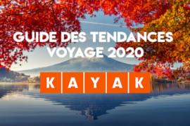 KAYAK présente son guide des tendances voyage 2020 des Canadiens et il y a des surprises!