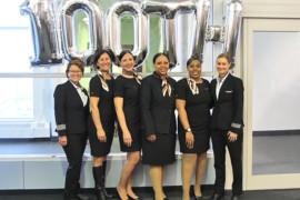 Sunwing célèbre la Journée internationale de la femme avec son 100e vol effectué uniquement par des femmes