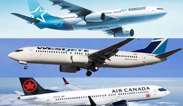 WestJet et Air Canada prolongent la suspension de leurs vols vers des destinations soleil au moins jusqu'en juin