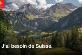 """Suisse Tourisme présente sa nouvelle campagne """"J'ai besoin de Suisse"""" au Canada et un concours!"""