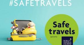 """La certification """"Safe Travels"""" du WTTC atteint sa 250e destination!"""