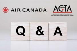 Air Canada et VAC répondent aux questions des agents sur les remboursements COVID lors d'un webinaire de l'ACTA