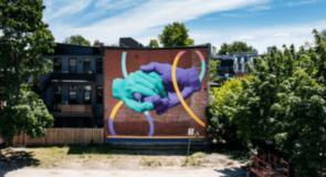 Expedia dévoile une murale urbaine à Montréal pour célébrer le retour graduel du voyage provincial