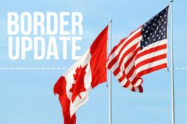 Les dernières mises à jour sur les mesures frontalières sont prévues aujourd'hui à 13 h 30