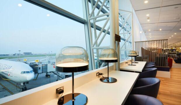 Air France dévoile son salon entièrement repensé à l'aéroport de Montréal-Trudeau