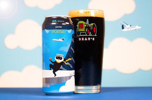 Porter Airlines et Beau's Brewing Co. lancent une bière comarquée