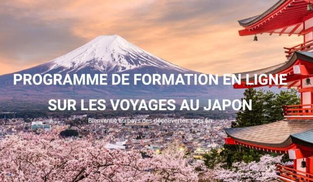 Inscrivez-vous maintenant pour devenir un spécialiste du voyage au Japon!